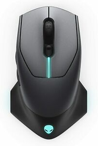 Alienware Wireless Optical Gaming Mouse AW610M, Rechargeable, RGB Lighting