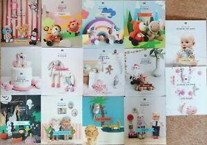 Ricorumi Pattern Book - Various Amigurumi Crochet Patterns
