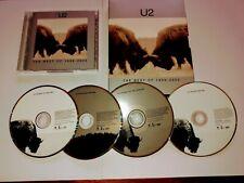 U2 Best Of 1990 - 2000 2 DVD Set/ History Mix Guaranteed + 2 CD Set/A + B Sides.