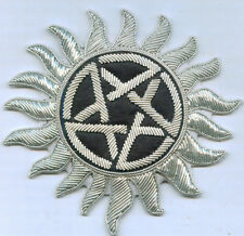Pentagram Pentacle Star Occult Wicca Witch Cape Robe Rune Sigil Symbol Patch 6 9