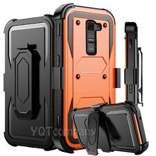 For LG K10 K8 K7 Case Shockproof Hybrid Rubber Armor Impact Hard Cover Accessory