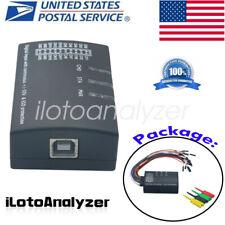 Mini Saleae 16 Logic Analyzer USB 100M Max Sample Rate 16CH Version 1.1.34 US