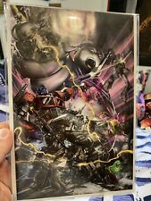 Transformers/Ghostbusters #1 - MINT CONDITION - 17/300 - Virgin Variant
