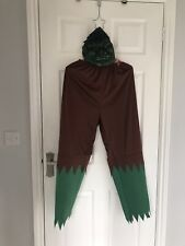 Ex hire Halloween costumes - The Incredible Hulk Trousers & Mask - Size M/L