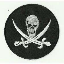 ECUSSON PATCH THERMOCOLLANT CORSAIRE PIRATE DIAMETRE 7,8CM