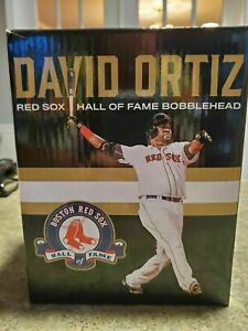 David Ortiz Boston Red Sox Hall Of Fame Bobblehead SGA Giveaway Fenway