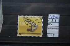 FRANCOBOLLI LIECHTENSTEIN USATI N. 318 (A9581)