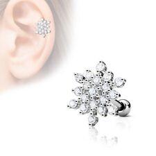 flake snow Piercing cartilage helix