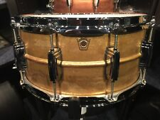 "Ludwig USA drums 6.5"" x 14"" Raw Brass Supraphonic snare drum LB464R"