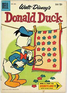 Dell Comics, Walt Disney's Donald Duck #74, $0.10, Nov.-Dec. 1960 - VF