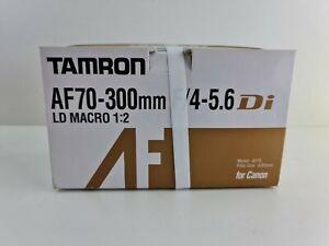 NEW Tamron AF70-300mm F/4-5.6 Di A17E 62mm for CANON OVP NEU telelens