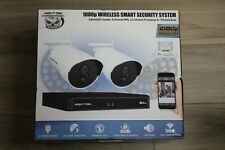 Night Owl 1080p wireless smart security system 8 channel NVR 2 Cameras 1TB HD