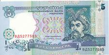 Ukraine - 5 Hryven' 1994 UNC - Pick 110a