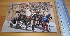 Post Card Maltese Cab