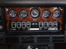 Jaguar Center Dashboard Panel Xke, E-Type Wood, Walnut Burl 1968-1974 4.2 & 5.3
