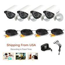 Lot4 700TVL 24 IR LEDS High Resolution CCTV Bullet Security Camera Kit