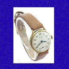 Vintage & Retro 9k Gold Ladies Vintage  Vertex 17 jewel Wrist Watch 1969