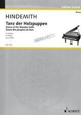 P.Hindemith: Tanz der Holzpuppen für Klavier.