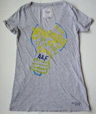 Women's ABERCROMBIE & FITCH FUNNY T shirt size medium M