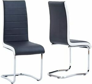 Modern Dining Chairs Set of 2 Upholstered Side Chairs for Dining Room, Kitchen