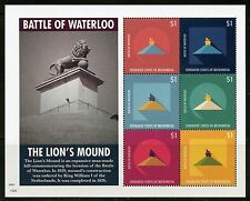 MICRONESIA 2015  BATTLE OF WATERLOO THE LION'S MOUND  SHEET   MINT NH