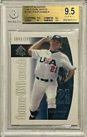 PHILIP HUMBER ROOKIE 2002 SP USA FUTURE WATCH CARD BGS GRADED GEM 9.5 NY METS RC