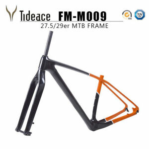 29er Carbon Bicycle Frames OEM Glossy T800 Full Carbon Fiber MTB Mountain Frame