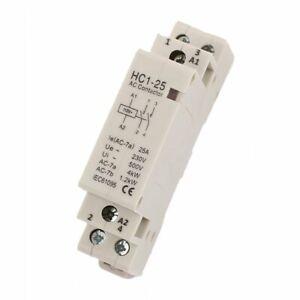 Lot 2 Contacteurs bobine 220V 25A HC1-25 2NO *NEUF*