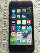 Apple iPhone 5 - 16GB-Negro y Pizarra (O2) A1429 móviles (GSM)
