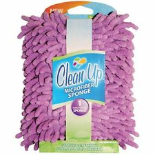 Clean Up Large Purple Microfiber Sponge - 1 count
