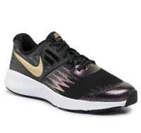 Nike Star Runner SH (PSV) Black/Gold/Wht Youth Sneakers Size 3Y   AV4489-001