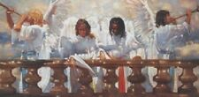Ron DiCianni HEAVEN'S BALCONY 9x18 Unframed Canvas Giclee Print Angels in Heaven