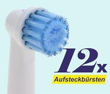 12 x Ersatzbürsten Bürstenköpfe Sensitive kompatibel Oral B Bürstenkopf EP-17S