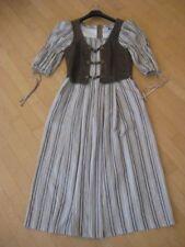 Super Salzburger Tracht Leinen Kleid in natur  Gr. 42 Top -1