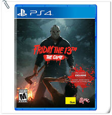 PS4 Friday the 13th: The Game Sony PlayStation Gun Media Survival Games