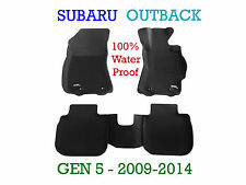 To suit Subaru Outback 3D Rubber Floor Mats - 2009-2014