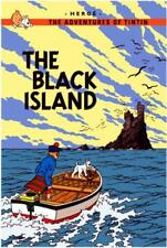 The Black Island (Adventures of Tintin) by Herge | Hardcover Book | 978140520806