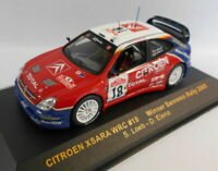 Ixo 1/43 Scale RAM127 CITREON XSARA WRC #18 WINNER SANREMO 2003