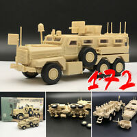 1/72 6x6 Mrap US Army Cougar Auto American Modern Military Kunststoff Modell-Kit