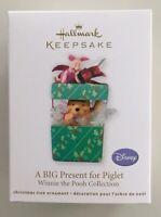 Hallmark 2011 Disney Big Present For Piglet Winnie the Pooh Christmas Ornament