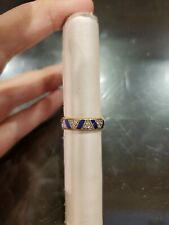 Authentic pandora exotic stones and stripes shine ring size 5