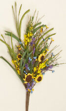 Country new FORSYTHIA mix stem w /berries / nice basket/ crock filler