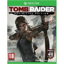 Tomb Raider Definitive Edition Game XBOX One - Brand New!
