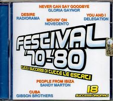 FESTIVAL '70-'80 - CD (NUOVO SIGILLATO) COMPILATION