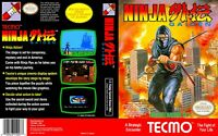 Ninja Gaiden 1 Nintendo Nes Cleaned & Tested Cart Only Authentic