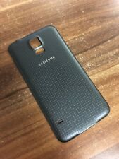 Original Samsung Galaxy S5 G900F Backcover Akku Deckel Schwarz Charcoal Black
