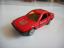 Majorette Honda Prelude in Red