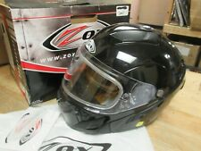ZOX  BRIGADE MODULAR FULLFACE  HELMET -  MOTORCYCLE SCOOTER SLED  - ADULT SMALL
