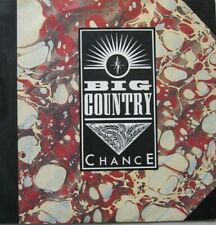 """BIG COUNTRY - CHANCE / TRACKS OF MY TEARS  - VINYL 7""""  - 45 RPM"""