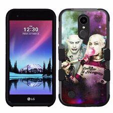 for LG K20 Plus/LG V5 Impact Armor Rugged Case Suicide Squad Harley Quinn&Joker